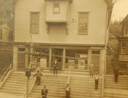 Original Roy's Hall c1916