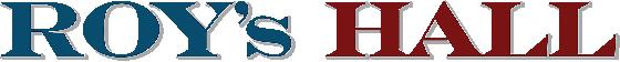 Roy's Hall Sticky Logo Retina