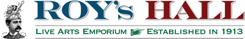 Roy's Hall Logo