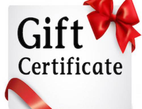 All-Occasion Gift Certificates to ROY's HALL are available NOW!